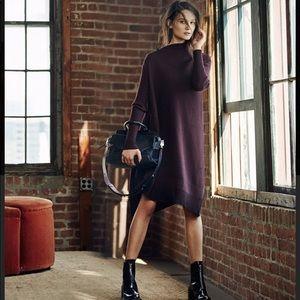 RAG & BONE Reanna asymmetric wool sweater dress